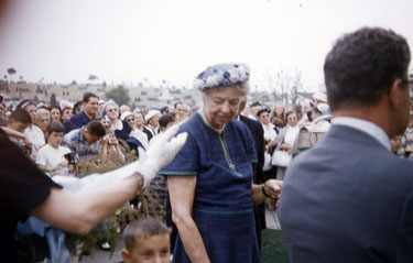 Eleanor Roosevelt at Beth Israel Cemetery