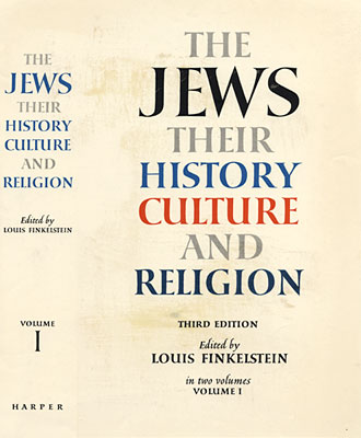 The Jews: Their History, Culture and Religion