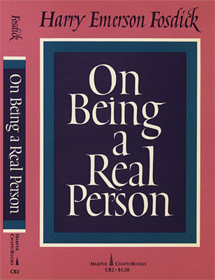 On Being a Real Person