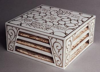Seder plate box