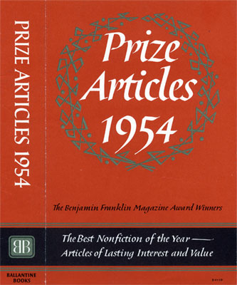 Prize Articles 1954