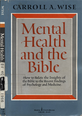 Mental Health and the Bible
