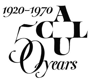 ACLU 50 years