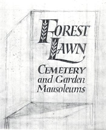 Forest Lawn sketch