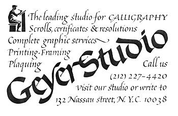 Geyer Studio Ad