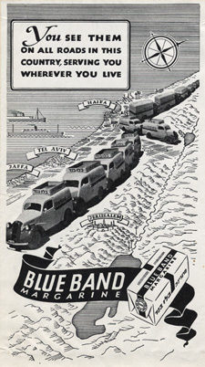 Blue Band delivers ad