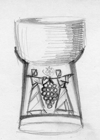 Elijah Cup sketch
