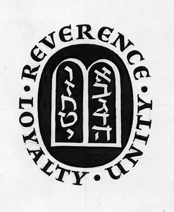 Reverence loyalty unity